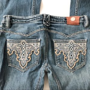 Antik denim bootcut jeans